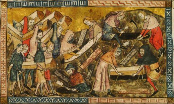 La peste noire à Tournai