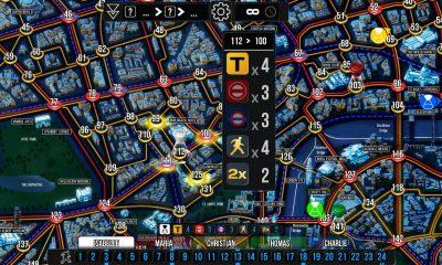 Ecran du jeu Scotland Yard