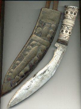 Couteau gurkha Khukuri