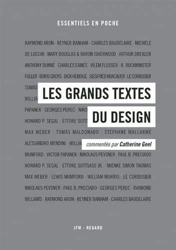 jacquette Les grands textes du design