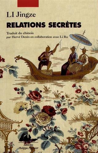 Couverture du livre Relations secrètes de Li Jingze