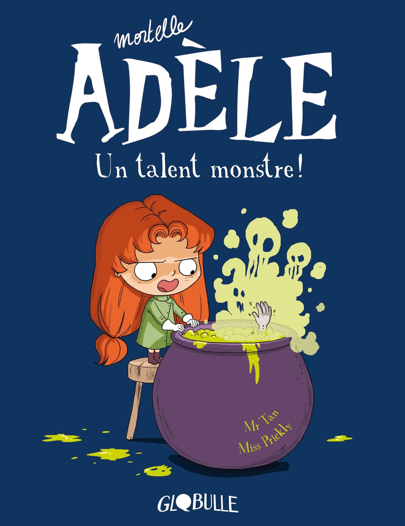 Image de couverture d'un des albums de la série Mortelle Adèle