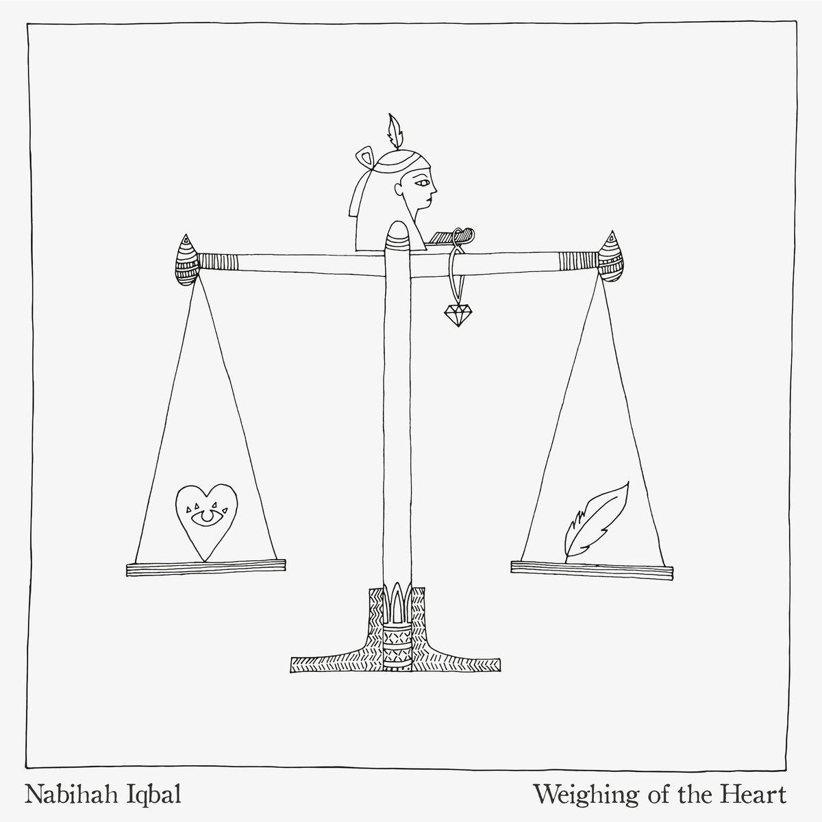 pochette de l'album Weighing of the heart de Nabihah Iqbal