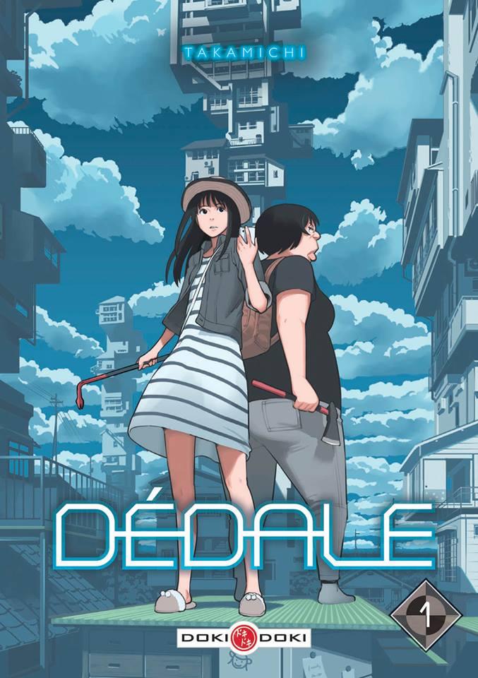 Couverture du manga Dédale