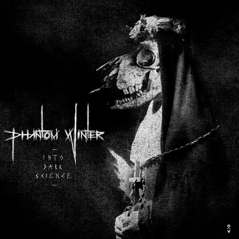 Pochette de l'album Into Dark Science de Phantom Winter