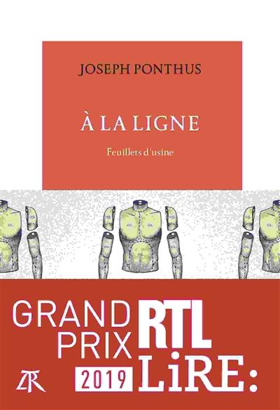 couverture du livre A la ligne