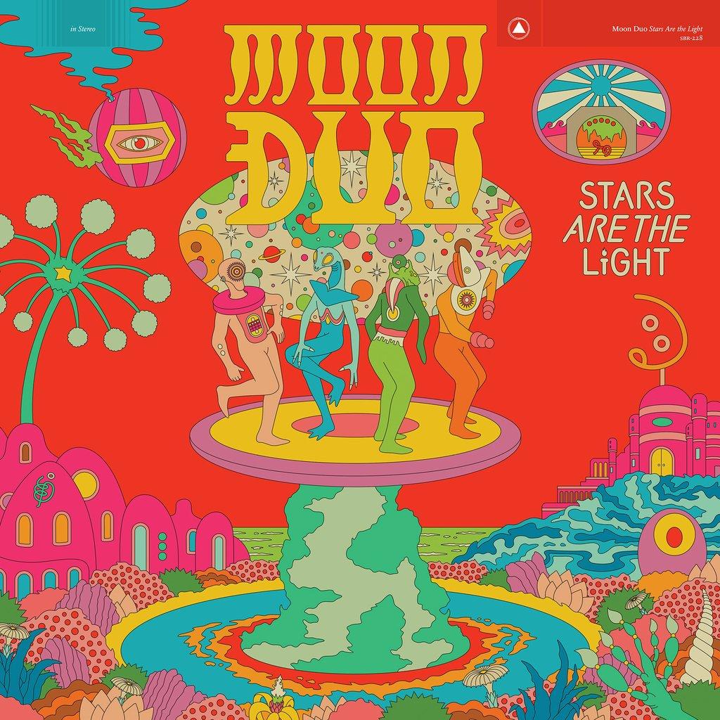 Pochette de l'album Stars are the light de Moon duo