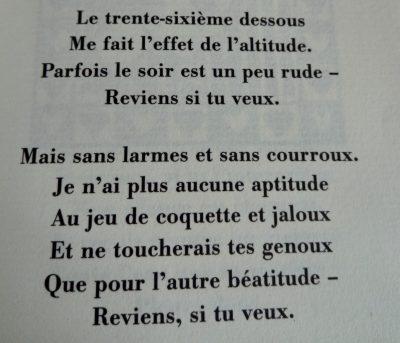extrait d'un poème de jacques Réda