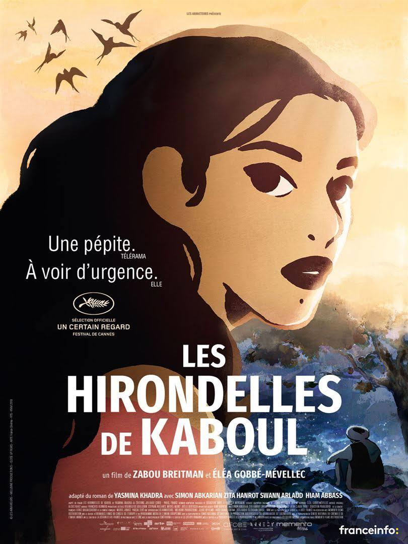 jacquette Les hirondelles de Kaboul