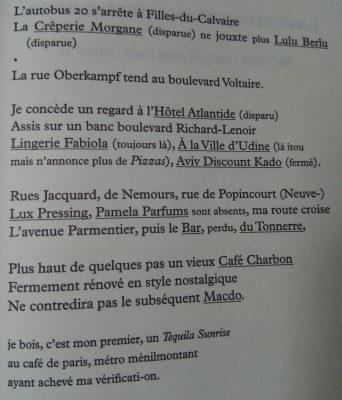 extrait d'un poème de J.Roubaud