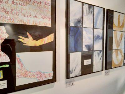 peintures de Martine Melinette qui illustrent des recueils de Cheyne Editeur