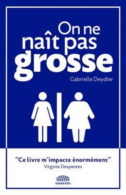 """Un logo du type """"Toilettes pour femmes"""" avec une silhouette de femme mince face à une silhouette de femme grosse."""