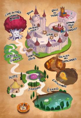 Carte du scénario 1