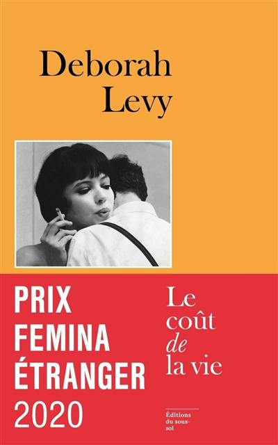 couverture du roman avec une photo de l'actrice Ana Karina dans le film Vivre sa vie de Godard