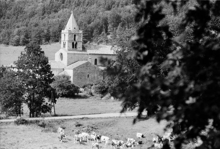 Abbaye cistercienne de Léoncel (Drôme)