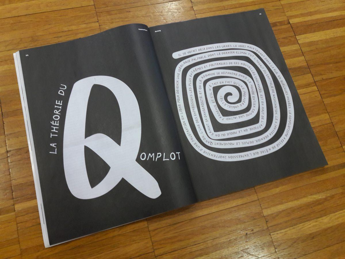 jacquette QAnon : mouvement visionnaire ou délire...