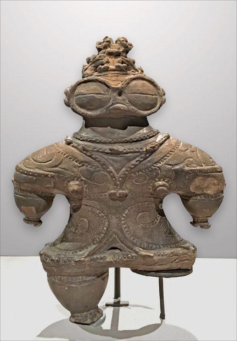 Dogû, figurine Jômon (Musée national de Tokyo, Japon)