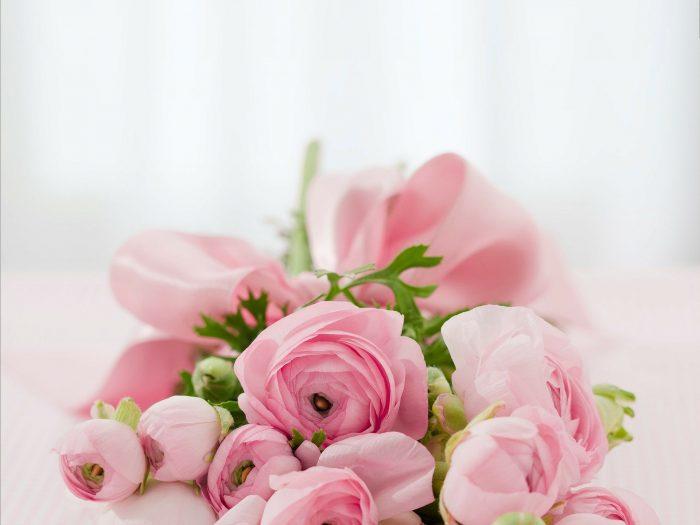 bouquet de rhododendrons