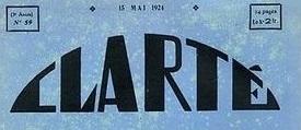 jacquette « Clarté » (1919-1928) : une revue qui fait...
