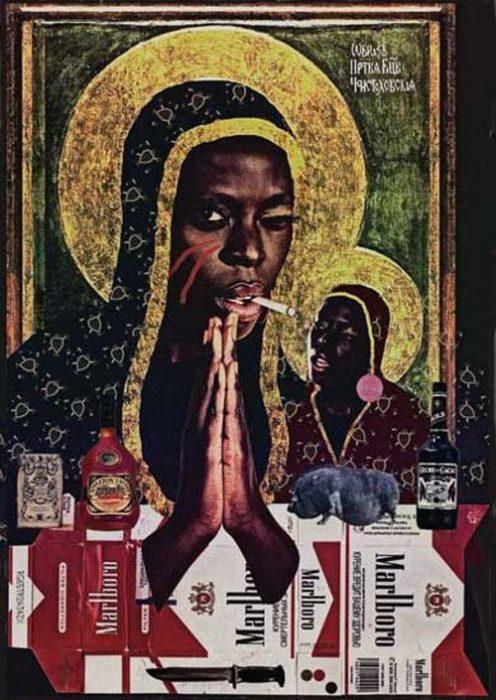 Ezili Dantor, collage haïtien contemporain