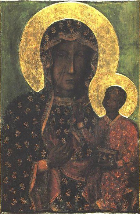 La Vierge noire de Czestochowa