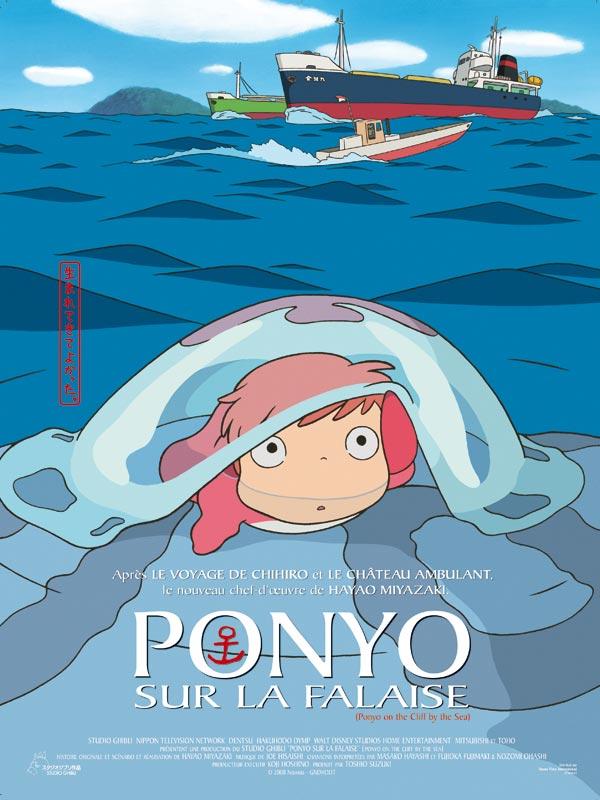 jacquette Ponyo sur la falaise