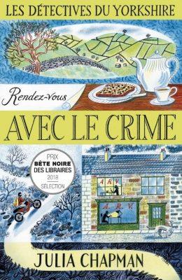 """Couverture du livre """"RV avec le crime"""" de Julia Chapman"""