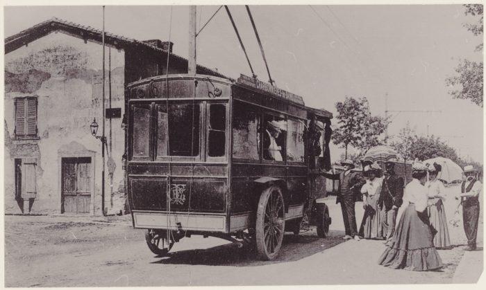 Trolleybus Nithard 1905