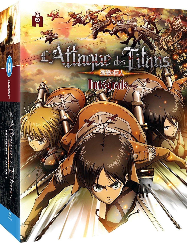 Pochette DVD L'Attaque des Titans